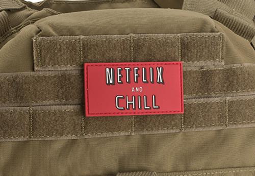 Netflix & Chill PVC - Morale Patch