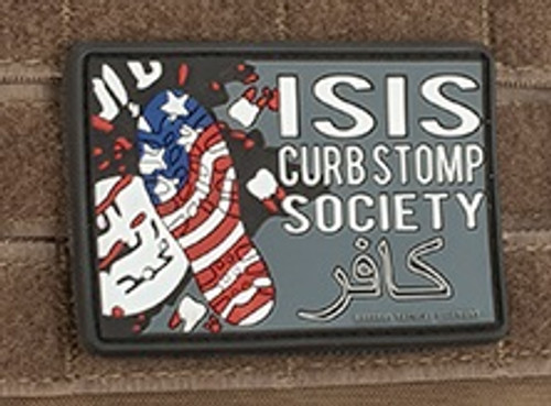 ISIS Curbstomp 3D PVC - Morale Patch