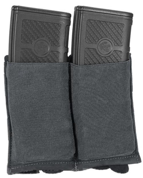 Blue Force Gear Ten-Speed Double M4 Mag Pouch - Wolf Grey