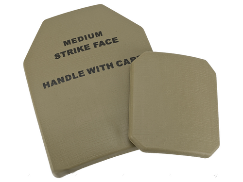 TMC 4 pcs Replica SAPI Dummy Ballistic Plate Set - Desert Tan