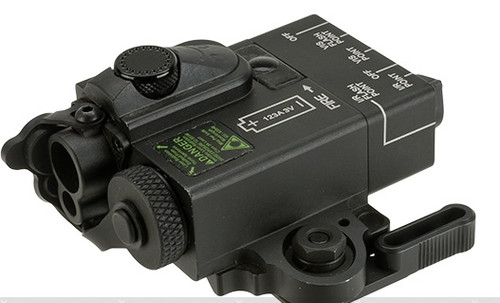 G&P Compact Dual Laser (Visible Red/Infrared) Designator - Black