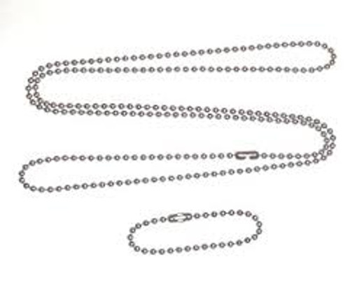 Dog Tag Chains - Silver