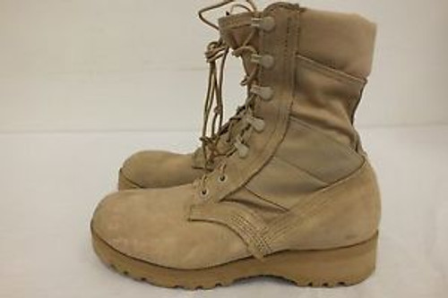 U.S. Armed Forces Hot Weather Desert Tan Combat Boots
