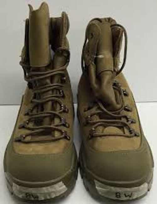 U.S. Armed Forces Temperate Mountain Combat Boots - Tan