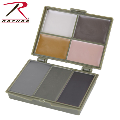 Rothco 7 Color Camo Face Paint Compact