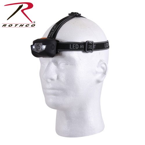 Rothco LED Headlamp - Black
