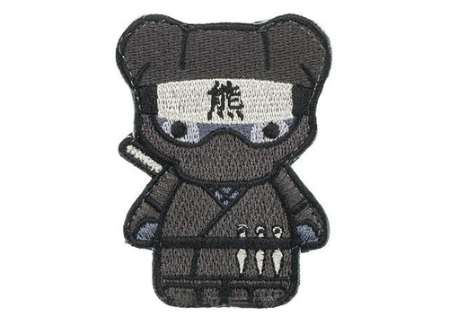 "Orca Industries ""Kuma Korps - Ninja"" Embroidered Patch"