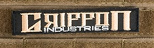 """Griffon Industries """"Name Tape"""" Embroidered - Morale Patch"""