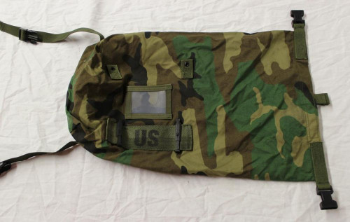 U.S. Armed Forces NBC Clothing Bag Stuff Sack - Woodland Camo