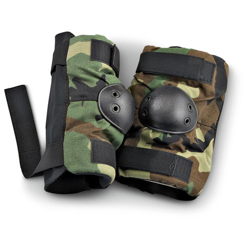 U.S. Armed Forces Elbow Pads - Woodland Camo