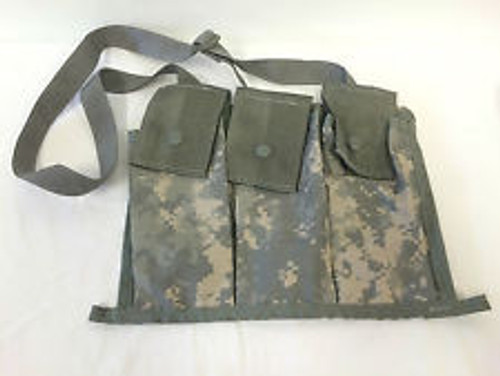 U.S. Armed Forces MOLLE II Bandoleer Ammunition Pouch - ACU