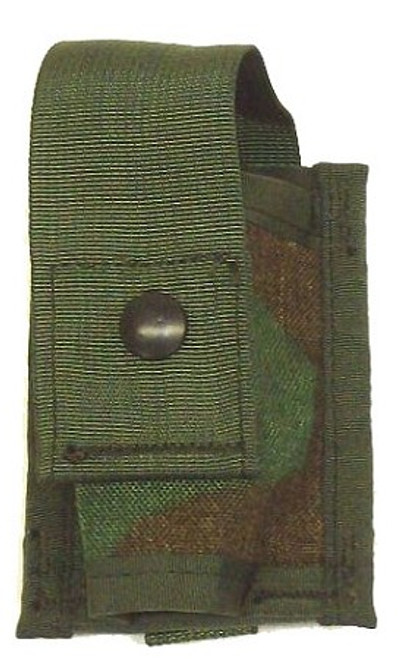 U.S. Armed Forces MOLLE 40mm Single High Explosive Pouch - Woodland Camo