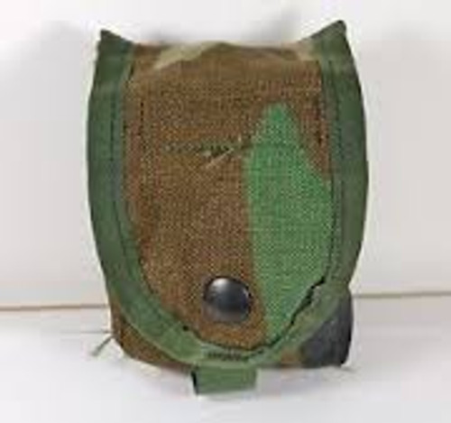 U.S. Armed Forces Hand Grenade Pouch Molle II - Woodland Camo