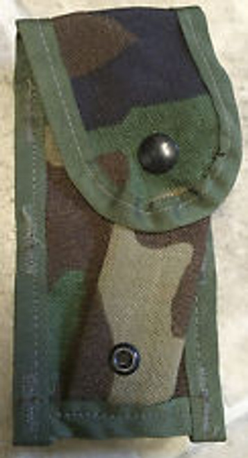 U.S. Armed Forces SDS Pistol Single Magazine Pouch MOLLE II - Woodland