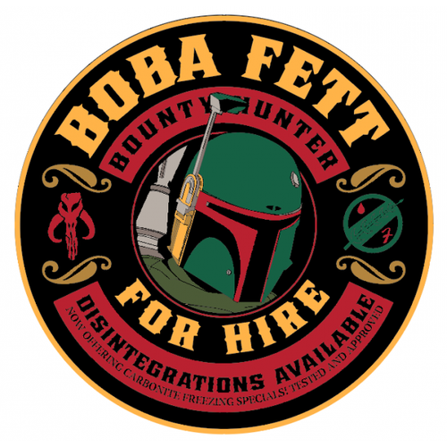 Bounty Hunter for Hire - Full Colour - Morale Patch