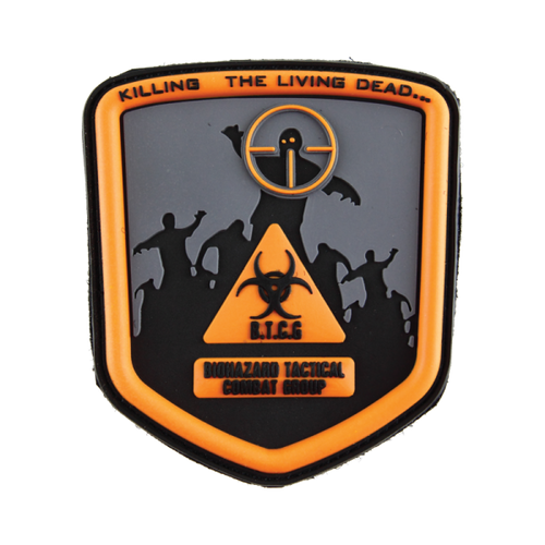 Biohazard Tactical Combat Group - Orange - Morale Patch