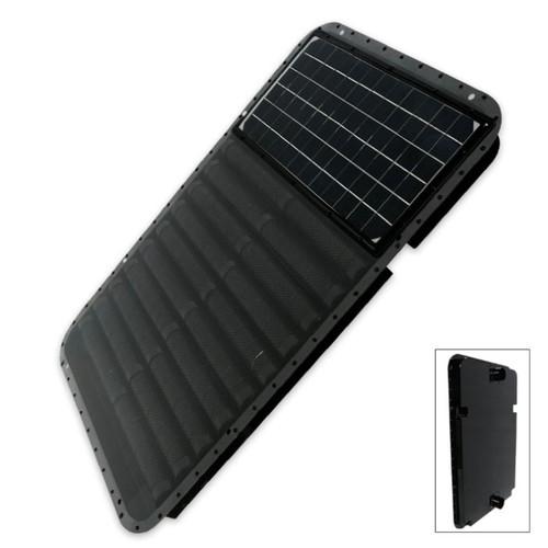 Portable Sun Seeker Solar Powered Fan