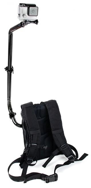 TMC Water Resistant GoPro Camera Backpack System - Black