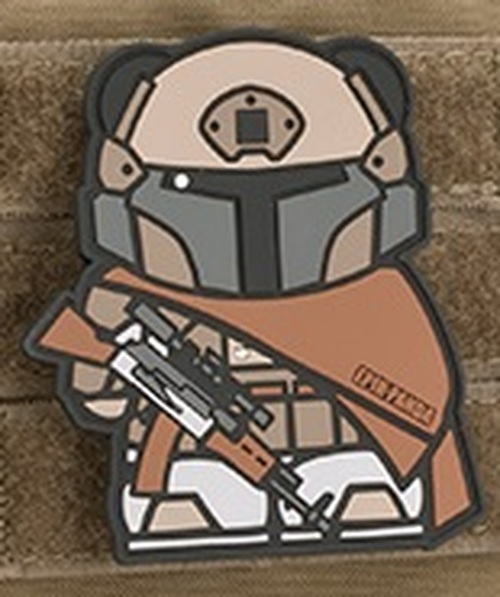 Epik Panda Panda Tactical PVC Rubber Morale Patch - Desert Tactical Armor