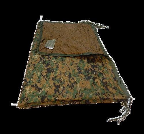 U.S. Armed Forces Wet Weather Poncho Liner/Ranger Blanket - Marpat