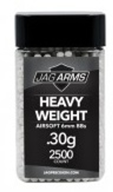 JAG Arms Heavy Weight .30 gram 2500rd White BB