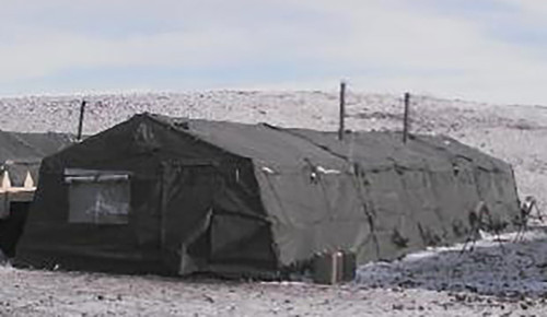 GP Expandable  Frame Type Tent 16' x 32' - U.S. Armed Forces