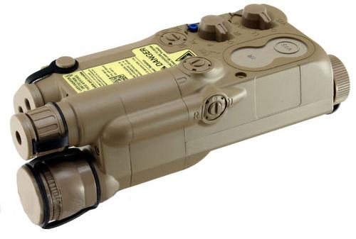 Avenger Airsoft Mock Modular AN  PEQ-16 Battery Case (Dark Earth)