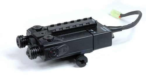 Matrix  King Arms DBAL-I Type PEQ2 RIS Mount Battery Box (With 9.6V Battery Pack)