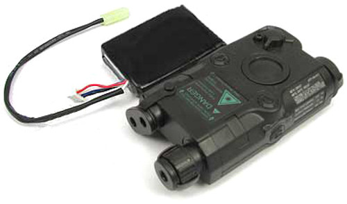 Matrix AN/PEQ-15 Case w/ 11.1V Lipoly Battery & Laser Sight (Black)