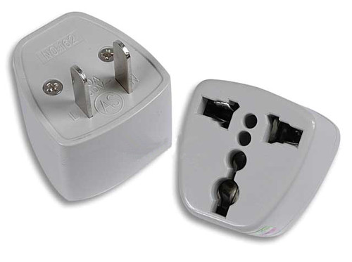 Power Plug Adapter ( Asia Type to USA Type ) - One