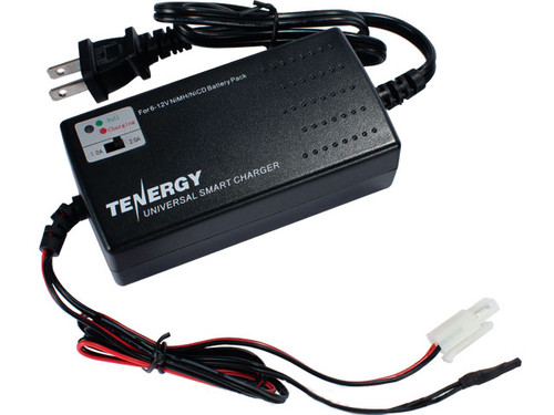 Airsoft Universal Smart Charger for 6V-12V NiMh & NiCd Battery Packs by Tenergy - Advanced Type