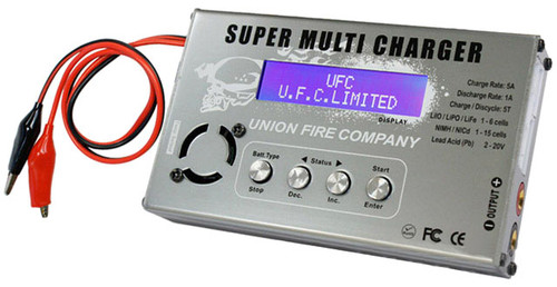 Super Multi-Functional All Battery Type Charger / Balancer / Discharger by UFC
