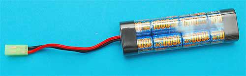 G&P Intellect 9.6v 1600mAh Mini Type Battery (Ni-MH)