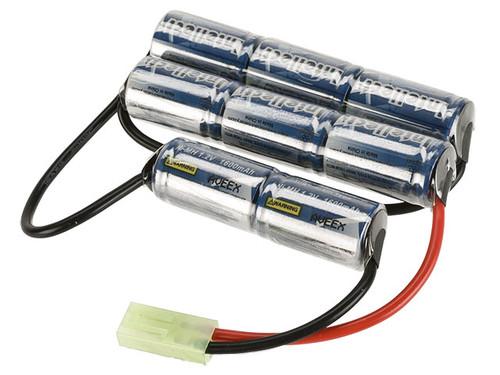 Intellect 9.6v 1600mAh NiMH Battery - 3 Stick Custom Type