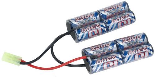Intellect 9.6V 2300mAh Ni-MH Custom Type (PEQ Box) Battery