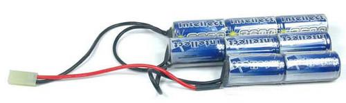 Intellect Airsoft Crane Stock Battery - 9.6V NiMh 3600mAh