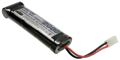 Cybergun / Softair 8.4v 2000mAh High Performance Brick Large Type NiCD Battery - Large Tamiya