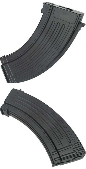 King Arms 47 Style 110rds Mid-Cap Magazine for AK Series Airsoft AEG (Package: Single Magazine)