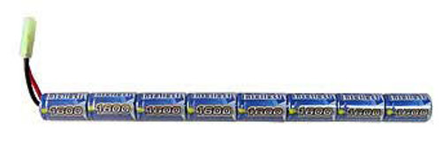 Intellect 9.6V Stick Type 1600mAh Airsoft Battery Pack