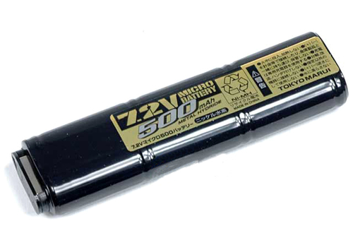 Tokyo Marui 7.2V 500mAh Micro Battery for 18C AEP Series.