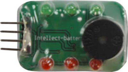 Intellect Lipo Battery Power Level Tester & Alarm to Indicate Low Power