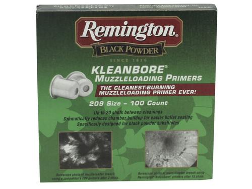 Remington Primers # 209 Muzzleloading - 100 Count