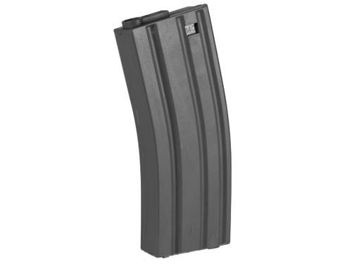 Elite Force 140rd Midcap Magazine for M4 / M16 Series Airsoft AEG Rifles - Black / One