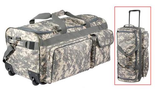 Military Expedition Wheeled Bag - ACU