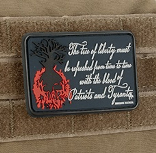 "MoeGuns - ""Tree of Liberty"" PVC - Morale Patch"