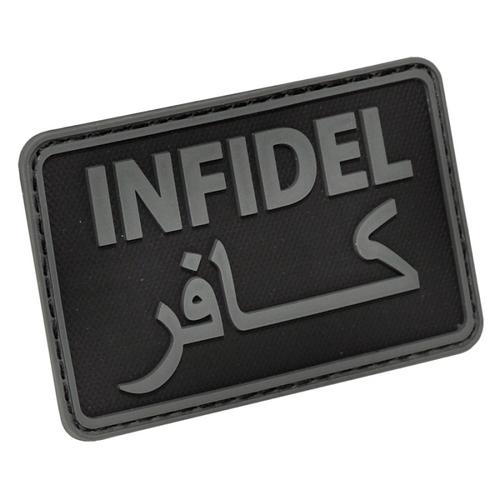 "Hazard 4 ""Infidel"" PVC - Morale Patch - Black"