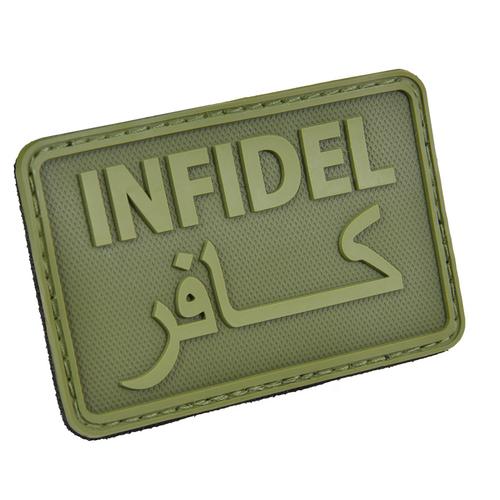 "Hazard 4 ""Infidel"" PVC - Morale Patch - OD Green"