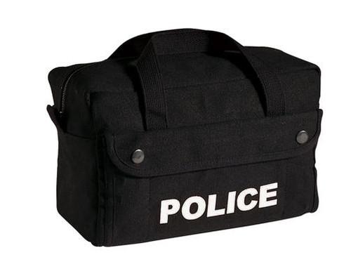 Police Logo Tactical Bag - Black