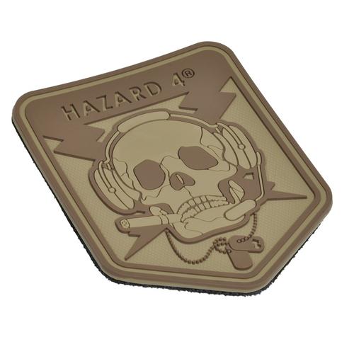 Hazard 4 Spec Op Skull - Morale Patch - Coyote