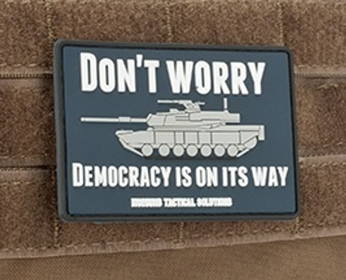 "MoeGuns PVC ""Democracy"" - Morale Patch"